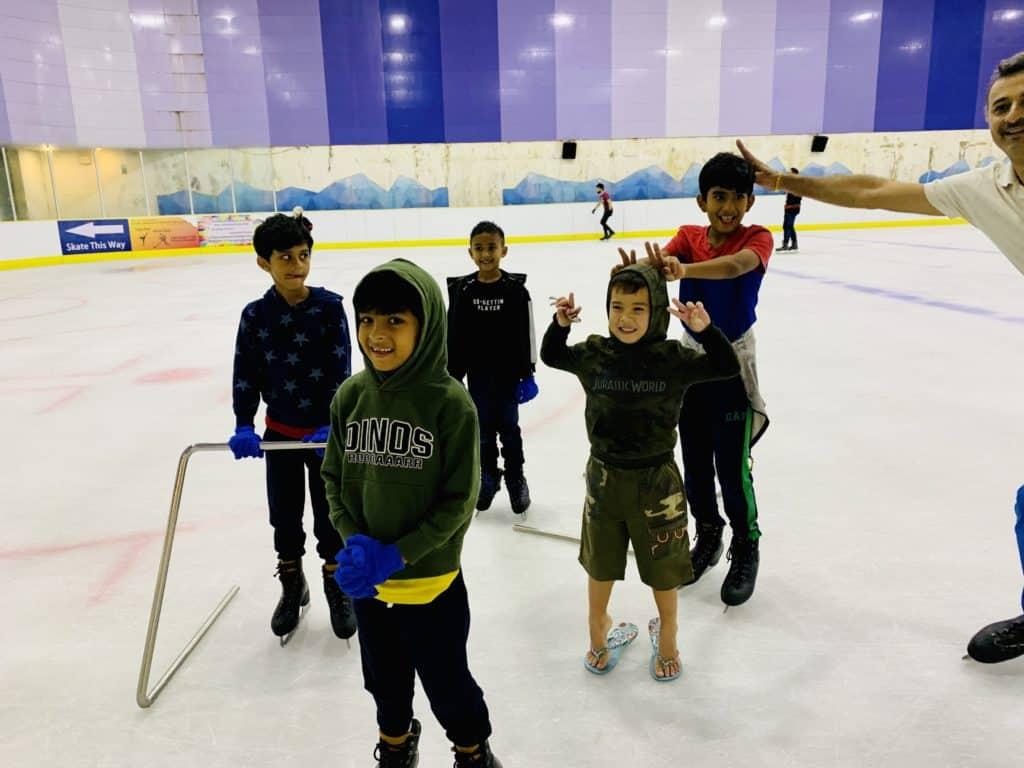 Stella Bar @ Changi & Ice-Skating @ Kallang Leisure - busy weekend...