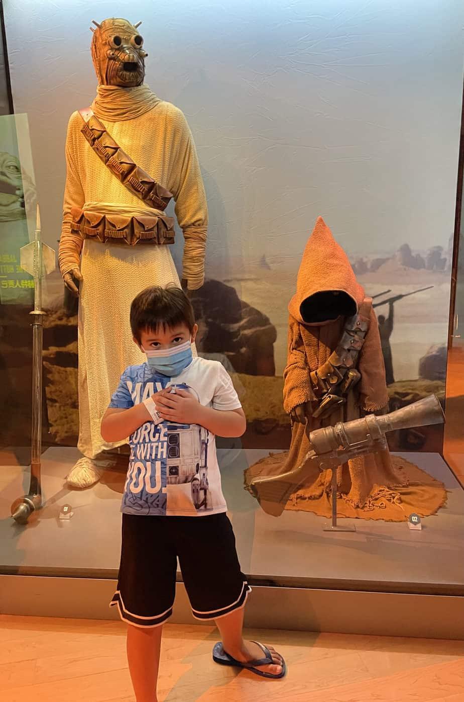 Star Wars Identities @ Art Science Museum