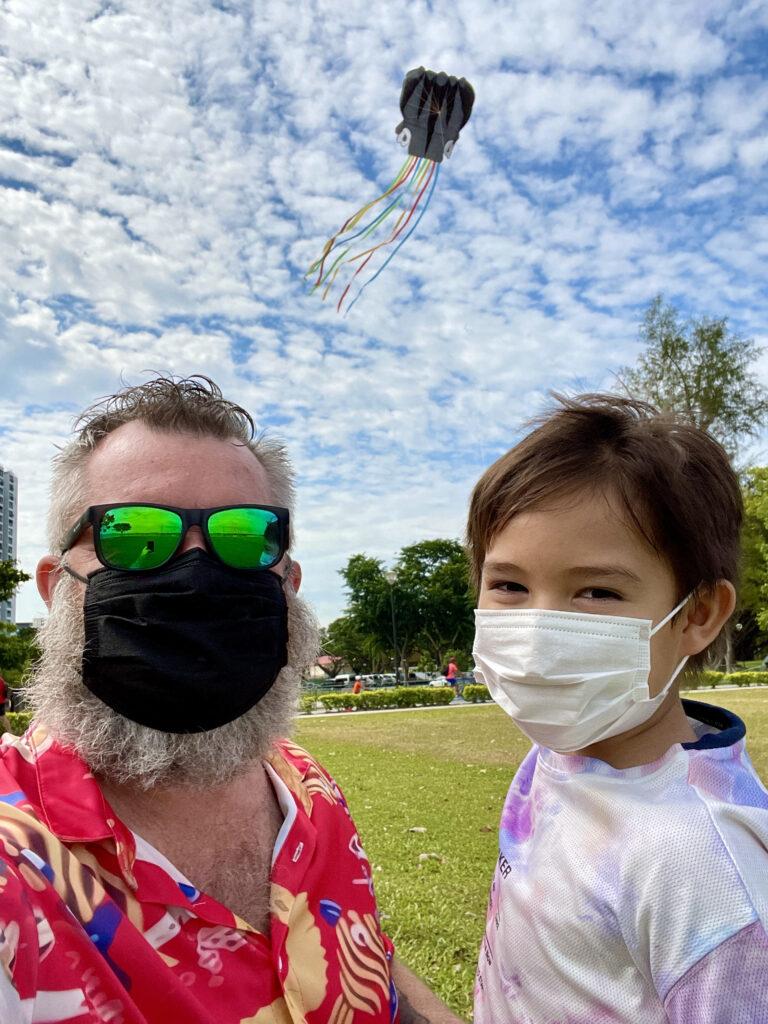 Kite Flying 'w' BFF & Wifey | East Coast Park | Singapore